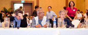 Muhammed Yunus ve jüri üyeleri